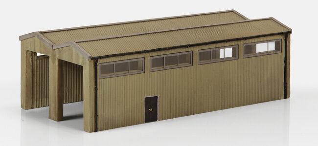 Graham Farish 42-196  N Gauge Rail Interchange Shed 135mm x 73mm x 43mm T48 Post