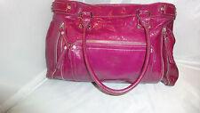 LONGCHAMP LEGENDE Hot Pink Patent Leather   Tote Handbag