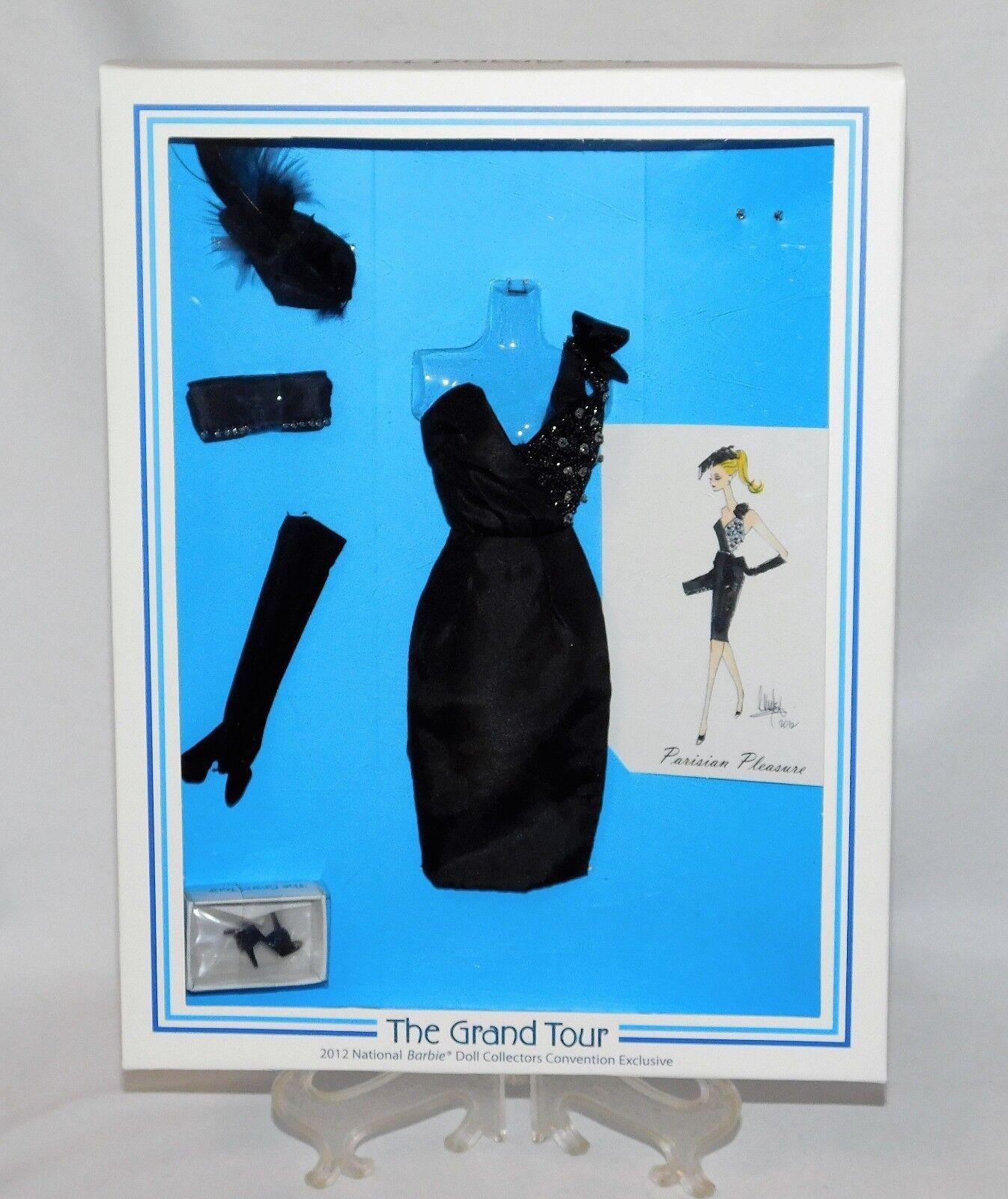 Parisian placer por Dressmaker detalles 2012 nbdc Barbie convención _ 902 _ nunca quitado de la caja