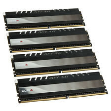 Avexir Core Series, rote LED, DDR4-2400, CL16 - 16 GB Kit