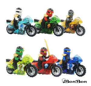 6-SET-6-SET-NINJAGO-FIGURE-TRANSPARENT-MOTORCYCLES-Blocks-MINI-LEGO-Comp-USA