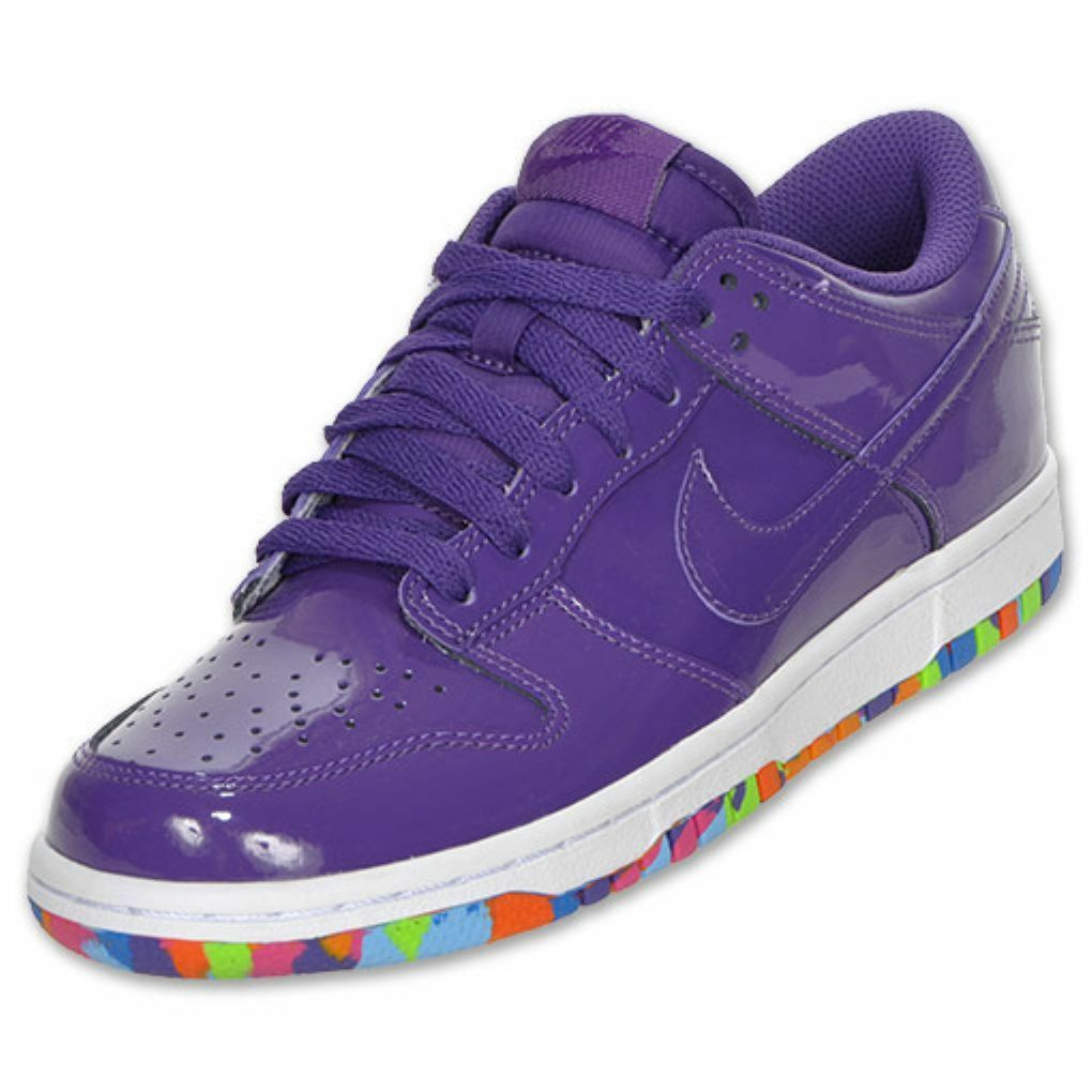bdf5652993d1 Nike Womens Dunk Low Low Low Casual shoes - Purple White - Size 11.5 - NIB