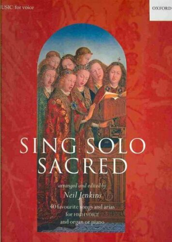 Neil Paperback by Jenkins EDT Brand New Sing Solo Sacred : High Voice F...