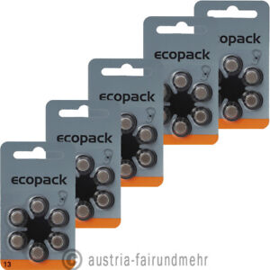 30x-ECO-Pack-VARTA-Hoergeraete-Batterie-V13-PR48-orange