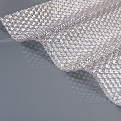 22,90€/m² Polycarbonat Wellplatten Marlon CS Crystalight Wabe Sinus 76/18 klar