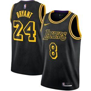 Details about Rare Kobe Bryant Lakers Nike Black Mamba Swingman Jersey DJ0471-010 Size Large