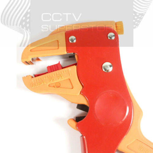 Self Adjustable Automatic Electrical Cable Wire Cutter Stripper 2 way Tool