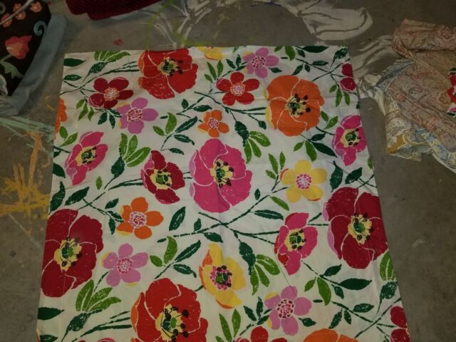 Pottery Barn Quot Nora Floral Quot Euro Pillow Sham Ebay