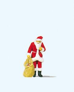 Preiser-29027-Santa-Claus-Avec-Sac-Cadeau-H0