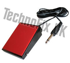 Metal PTT Tx/Rx transmit foot-switch for desk/boom microphone/headset e.g. Heil