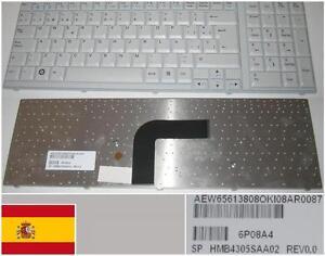Teclado-Qwerty-Espanol-LG-R700-Serie-6P08A4-AEW656138OK-HMB4305SAA02-BLANCO