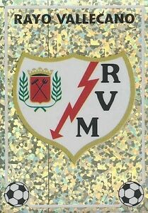 N°T BADGE ESCUDO RAYO VALLECANO CROMO STICKER PANINI LIGA 1997