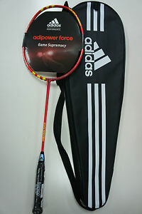 Adidas-Adipower-Force-Badminton-Racquet-Racket-Unstrung-For-Advanced-Player