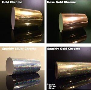 Rose-Gold-Chrome-Self-Adhesive-Vinyl-Sign-Making-Glitter-Film-Spark-Silver
