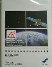 EUROPA Navigation 2014-1 SD CARD Wip NAV MyWay PEUGEOT