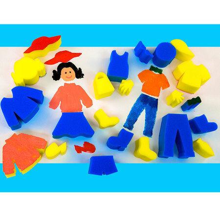 Esponja Pintura People Theme Esponja formas