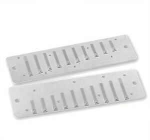 FENDER JOHN POPPER HARMONICA Stainless Steel Replacement Reedplates - Pick a Key