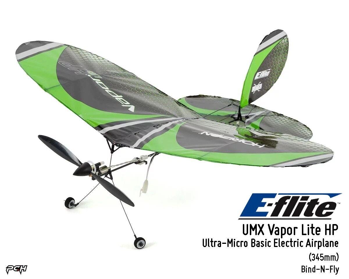 E-FLITE Ultra-Micro UMX VAPOR LITE HP BNF Basic Electric Airplane 345mm EFLU6850