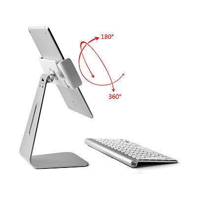 Highend Aluminum desk Stand Holder for iPad, IPAD PRO/Samsung Galaxy,Tablet -aa