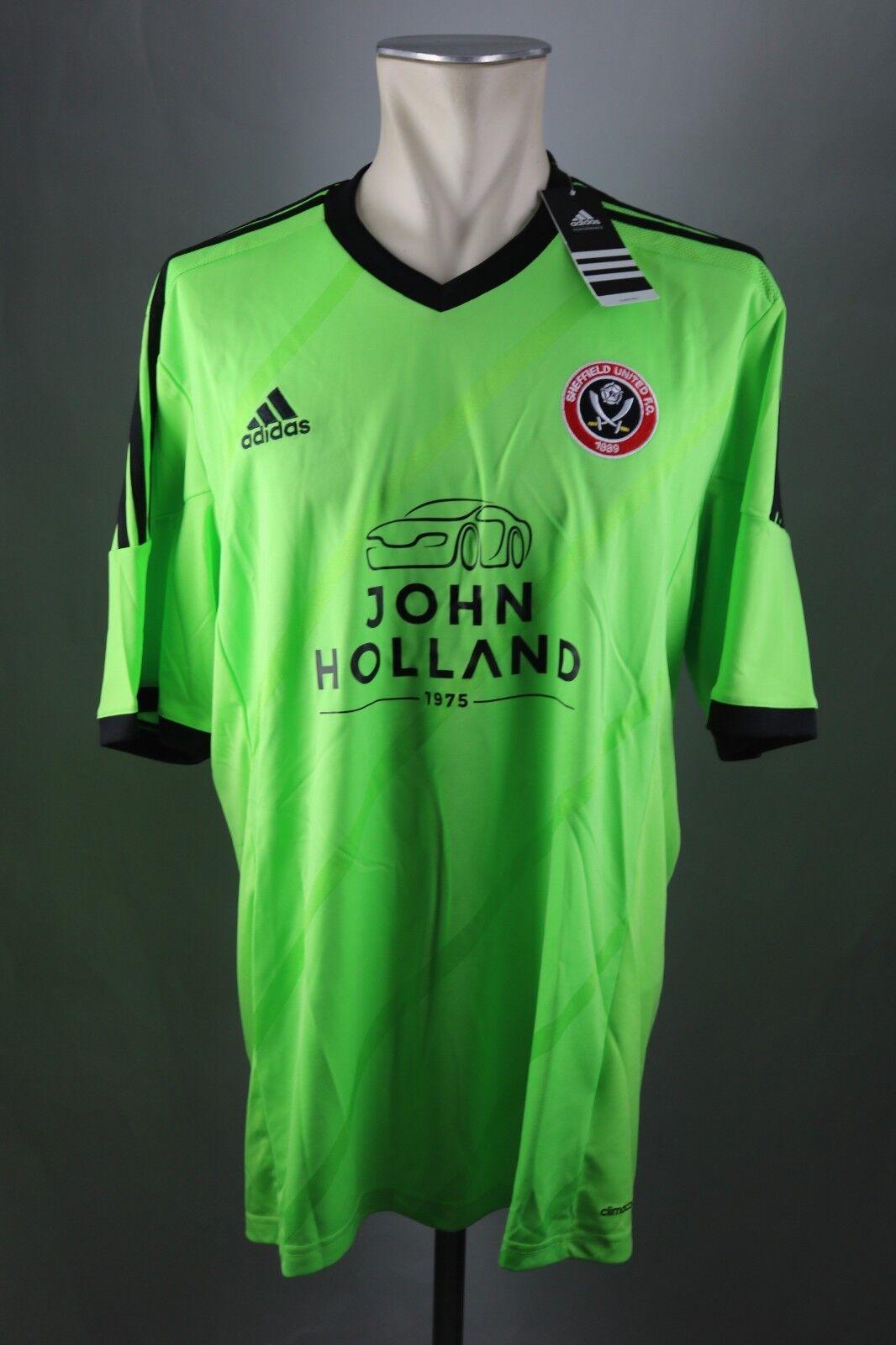 Sheffield United Trikot Gr. XL XXL 3XL Jersey 2015-16 Shirt Jersey Away Adidas  | Lebhaft und liebenswert