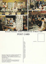 1990  MV 1st NOTTINGHAM MODERNS POSTCARD FAIR ADVERTISING UNUSED COLOUR POSTCARD