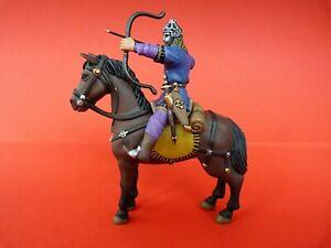 Figurine Du Moyen-âge Altaya N° 55 - Guerrier Couman Xiii Siècle - Lead Soldier Pourtant Pas Vulgaire