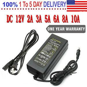 12V 2A 3A 6A Power Supply Transformer Adapter for LED Strip Light DVR Cameras