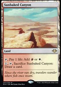 Sunbaked-Canyon-NM-M-Modern-Horizons-Magic-MTG