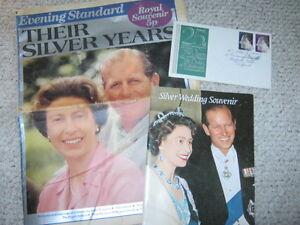 Queen Elizabeth II & Prince Philllip Silver Wedding Anniversary Collection