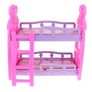 Letto A Castello Arredamento.Bambola Per Arredamento Bambola Per Mobili Con Letto A Castello Ebay
