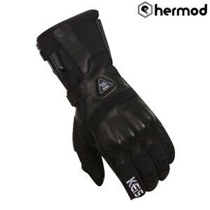 Keis G601 Premium Heated Waterproof Motorcycle Gloves Black Ebay