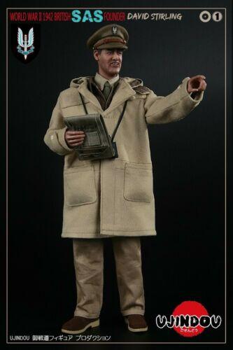 UJINDOU UD90001 1//6  WWII British SAS Founder David Stirling 1942 Figure Toys
