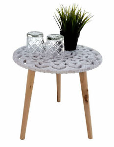 Design Beistelltisch Shabby Chic - Holz Deko Tisch klein Vintage ...