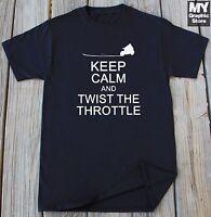 Motorcycle T-shirt Twist The Throttle Motorcycle Rider Gift Shirt Biker T-shirt