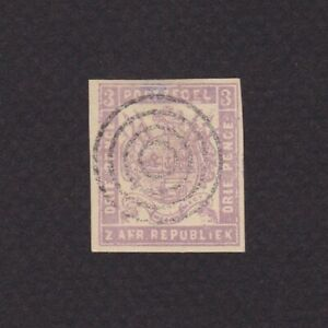 TRANSVAAL-SOUTH-AFRICA-1876-SG-62-CV-160-Used