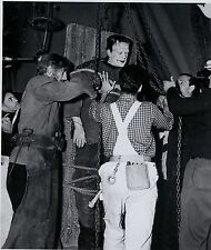 RARE STILL BORIS KARLOFF AS FRANKENSTEIN  ON SET #11