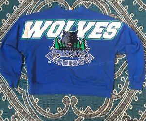 Details about 1990's Nike Minnesota Timberwolves Men's XL White T Shirt Vintage USA Made