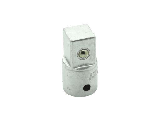 """Adapter 1//2 Zoll Stecknuss Schlüssel 3//4/"""" SW 19-60 mm Vielzahn 12-Kant Nuß"""