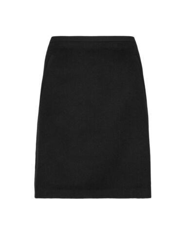 lined Mini Skirt M s A s 10 10 Length M 21 Wool foderata Line Lunghezza Size 21 Skirt Lana Taglia Line A Mini fUfwanqr