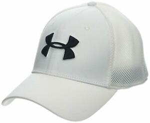 0960a17c UA 2019 Under Armour Men's Classic Mesh Golf Cap. White.   eBay