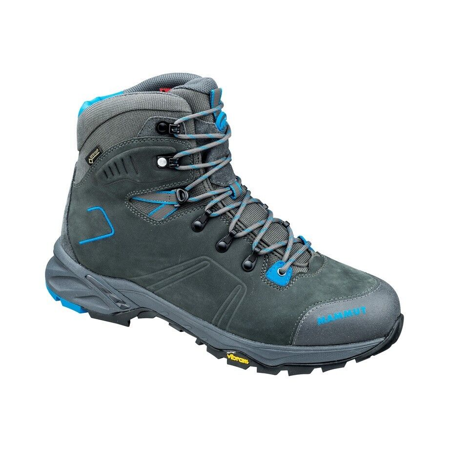 Mammut Mercury Tour High GTX Trekkingschuhe  graphite-atlantic  Wanderschuhe