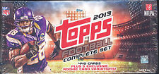 2013 TOPPS Complete NFL FOOTBALL 440 Card Factory Sealed Box SET Rookies Pack