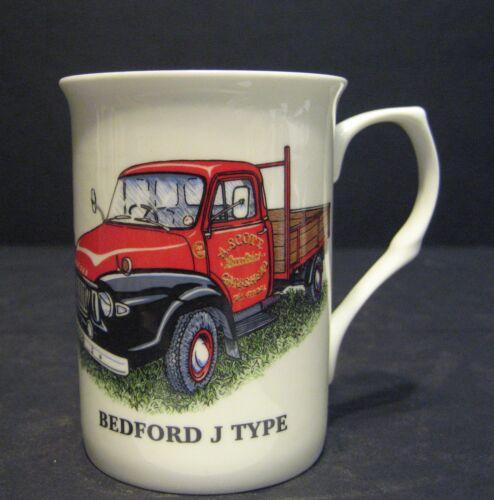 Bedford J TYPE TRUCK WAGON Fine Bone china mug cup beaker