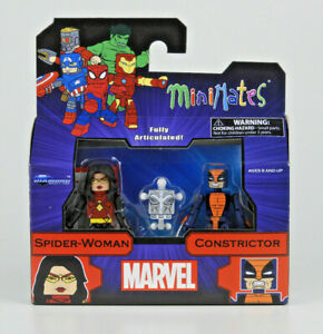 Marvel Minimates Series 80 Espionage Spider-Woman & Constrictor 2 Pack Figures