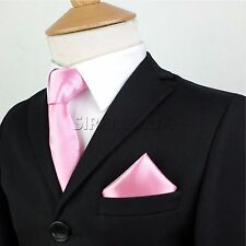 Niño Niños Chicos Premium Satén Corbata Pañuelo Pañuelo Bolsillo Cuadrado Gift Set Reino Unido