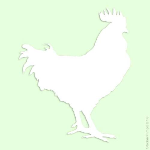 Rooster Decal Sticker Choose Color Large Size #lg975