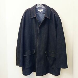 Authentic-Ermenegildo-Zegna-Men-039-s-Heavy-Wool-Car-Coat-Jacket