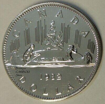 1982 Canadian Prooflike Nickel Dollar $1.00