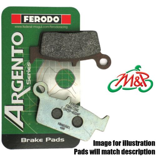 Malaguti MADISON 125 2002 Ferodo Organic Rear Disc Brake Pads