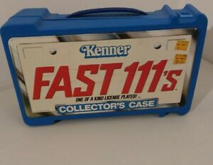 1980-039-s-Kenner-FAST111-039-s-Collector-039-s-Case-12-Car-Case-nice-sticker-VTG